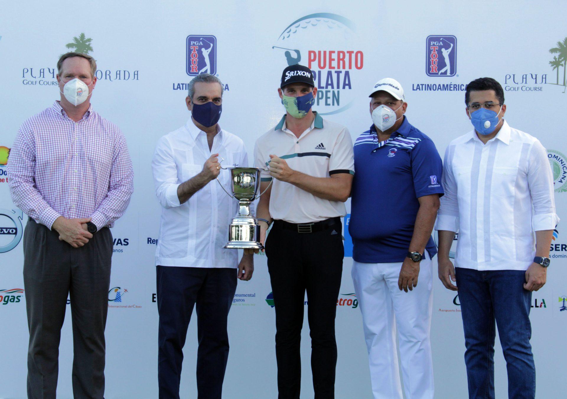Momento Deportivo RD | Brandon Matthews, gana el Puerto Plata Open PGA Tour  Latino